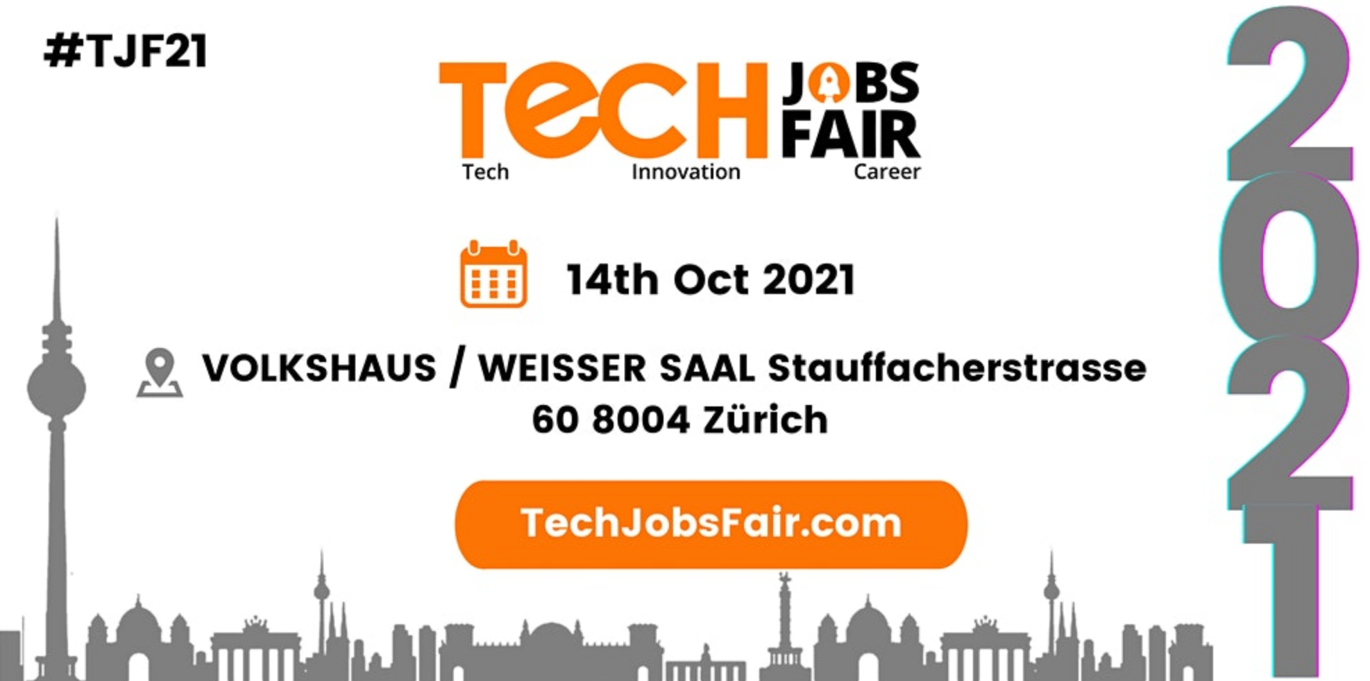 Tech Jobs Fair Zurich 2021