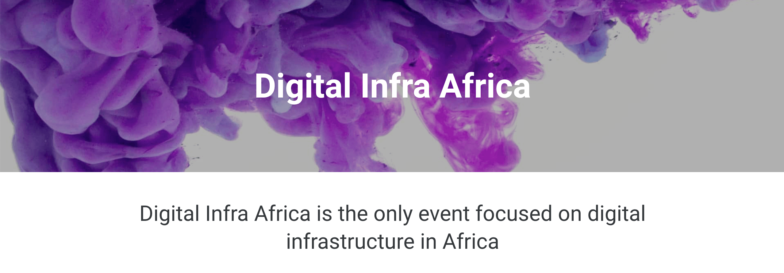 Digital Infra Africa 2021