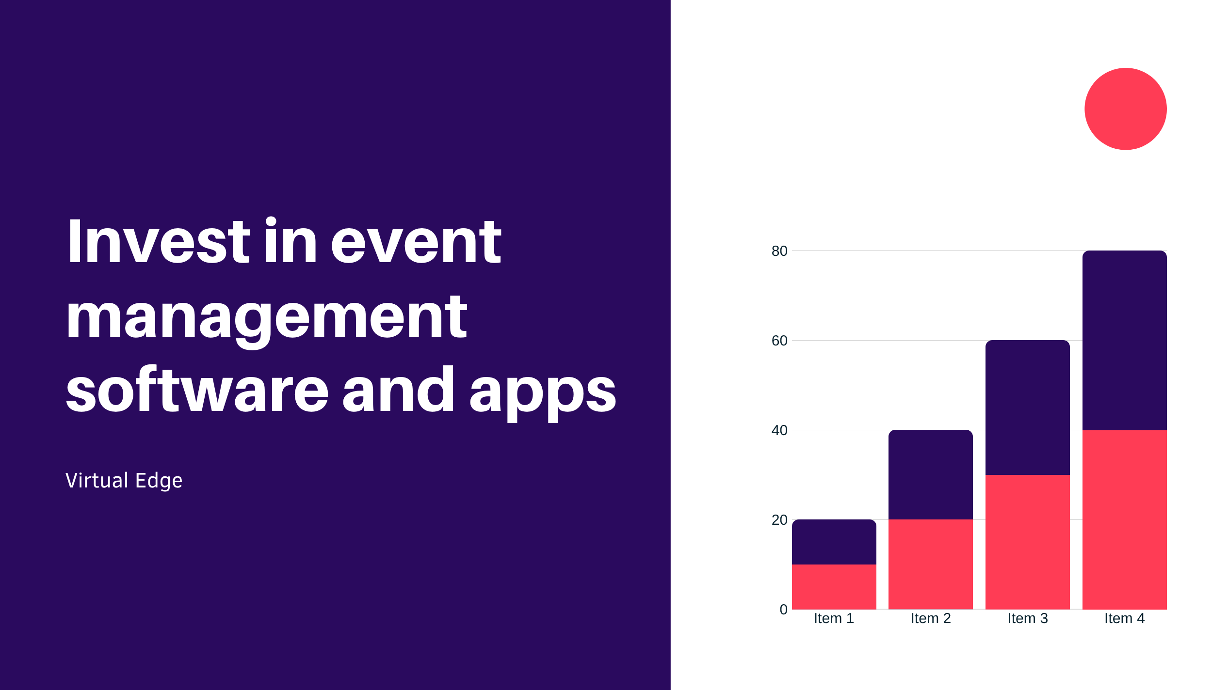 Invest in event management software and apps